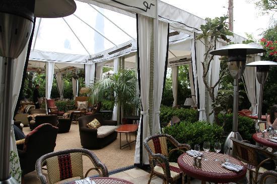 Chateau Marmont: La terrasse