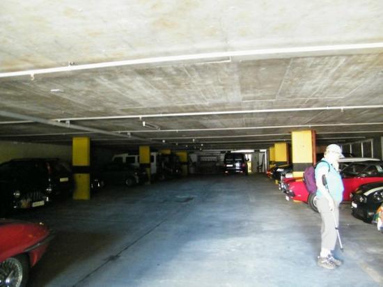 Eurotel Victoria: interno garage