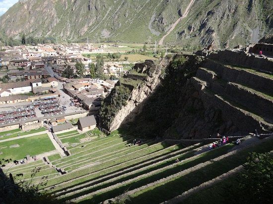 The terraces of Ollantaytambo