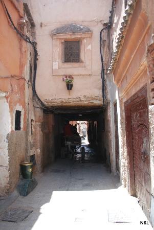 Riad Caesar: La petite rue du Riad