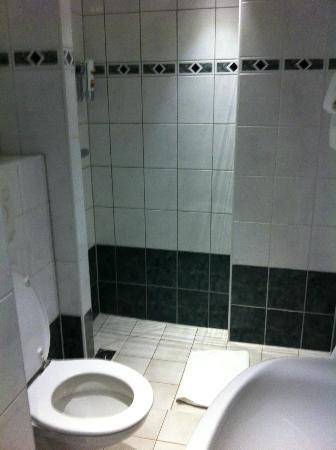 Hotel Luxer: Bathroom from doorway