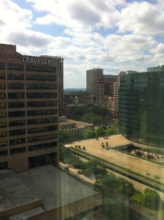 Hartford Marriott Downtown : View from Room
