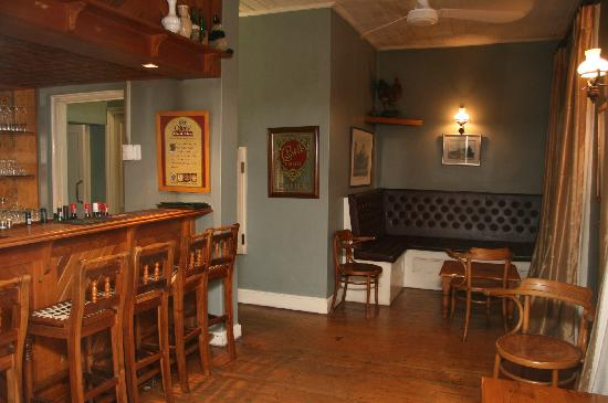 The Cock House: Our cosy bar area