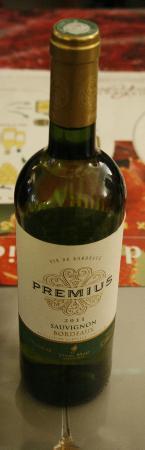 Musée du Vin et du Négoce : Wine sample
