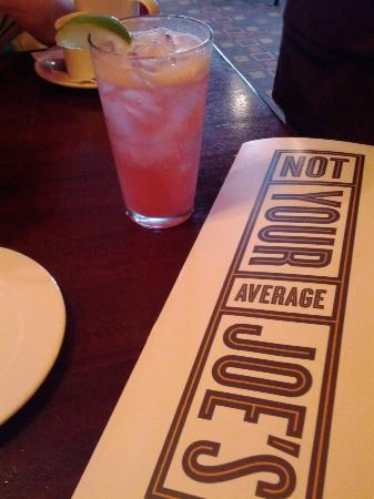 Not Your Average Joe's: Menu and drink