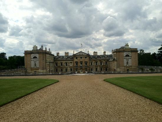 Woburn Abbey and Gardens: Rear of the house