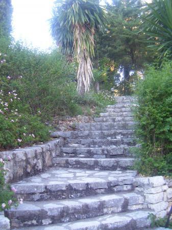 Nautilus Hotel: Einige der Treppen....