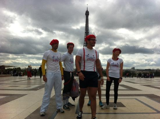 Wellicient: Televised Paris Running Tours