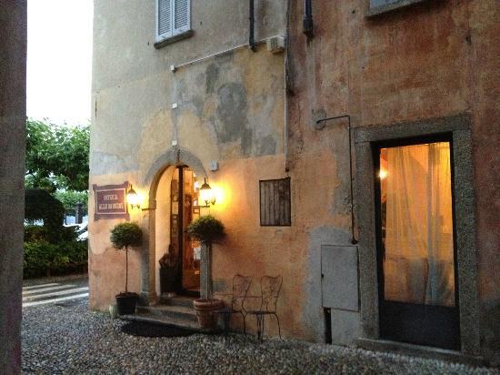 Alle Darsene di Loppia: Restaurant Entrance