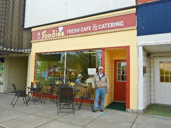 Foodies is located in downtown Dowagiac MI