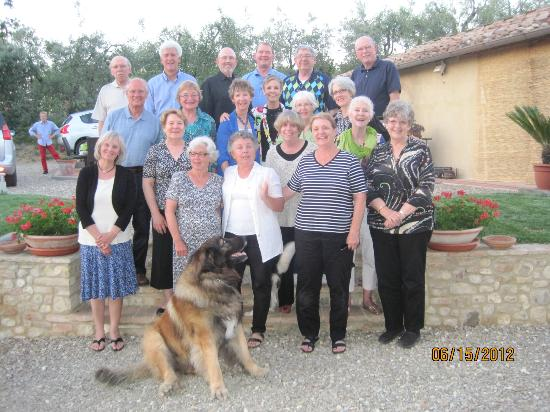 Podere Le Rondini: group photo