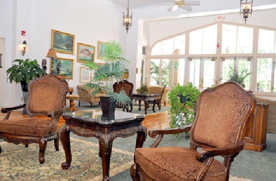 The Hotel Jacaranda: Lobby