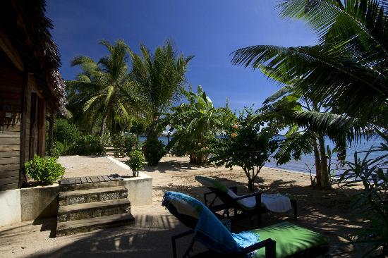 Anjiamarango Beach Resort: Anjiamarango Lodge Private Garden