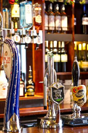 Tree Tops: a wide range of fine ales available