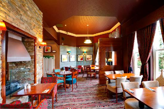 Tree Tops: or have a quiet relaxing meal in one of our quieter areas