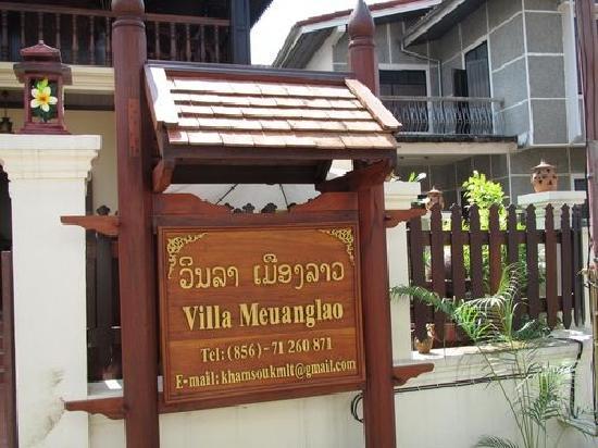 Villa Meuang Lao : Villa Meuanglao