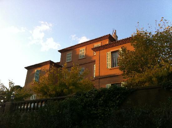 Bastide des Escourches : vue de la Bastide