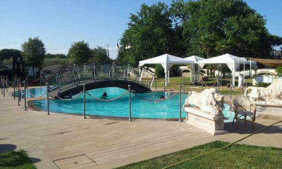 Villa Sofia : La piscina, eccezionale!