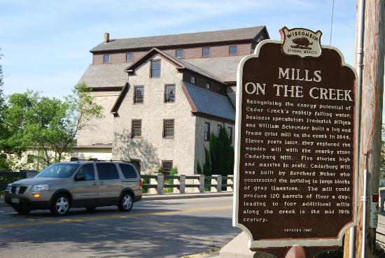Washington House Inn: The old mill