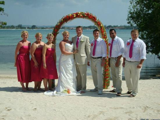 Clubhotel Riu Negril Wedding On The Beach