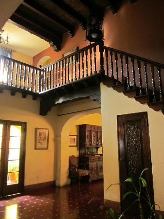 Casa Carmel: center stair