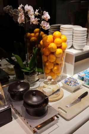 Hotel Carlton: Breakfast