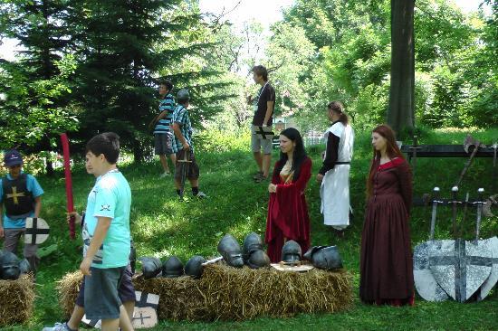 Bran, Romania: Games