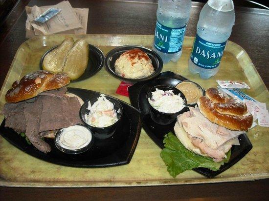 Seafire Inn: Menus sandwichs calientes
