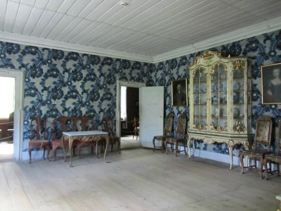 Foto de Museo del Pueblo Noruego, Oslo: Intérieur d\'une maison ...