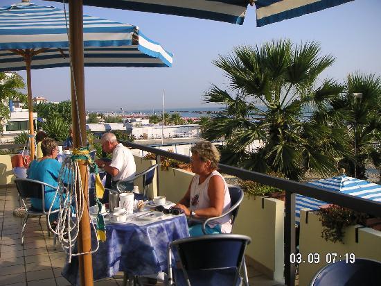 Hotel Poseidon & Nettuno: Frühstücksterasse