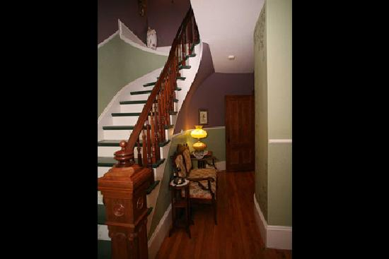 The Fiddlehead Inn: Stair Case