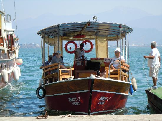 Plage de Calis : Taxi boat from Fethiye to Calis Beach