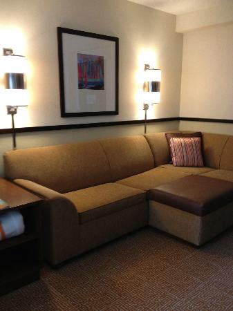 Hyatt Place Jacksonville Airport: Couch/Sitting area