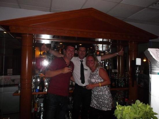 Iliada Beach Hotel: Best barman in Cyprus