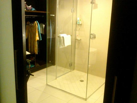 Nice closet and walk in shower Picture of The Condado Plaza