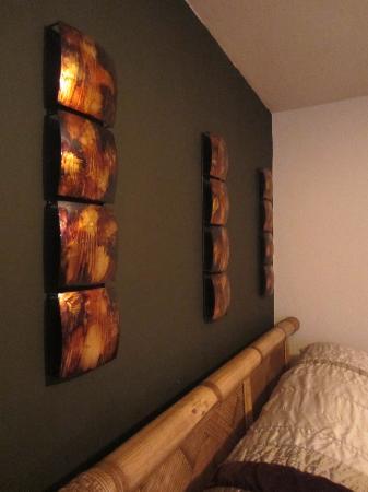 Oceana Hostal Playero: Decoration chambre