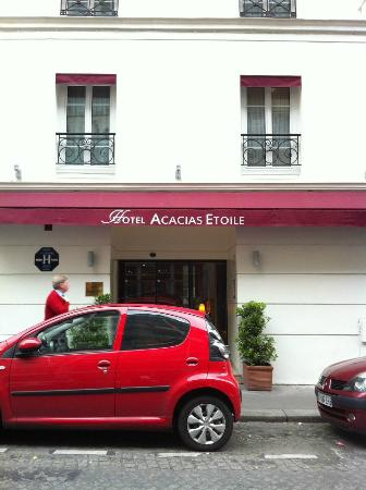 Acacias Etoile Hotel: hotel exterior