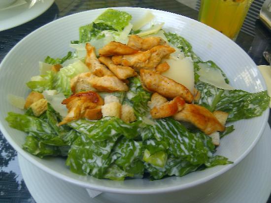 TOWERS Steak & Salad: Ceasar salad