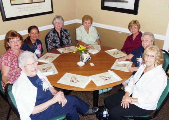 Dienner's Country Restaurant: Seniors from FBC Dundalk, MD