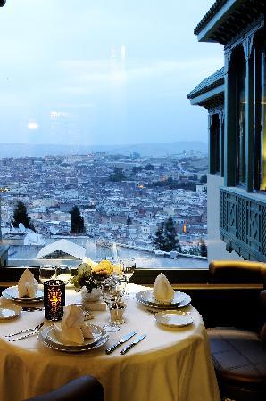 L'Amandier Palais Faraj : Vue depuis l'amandier