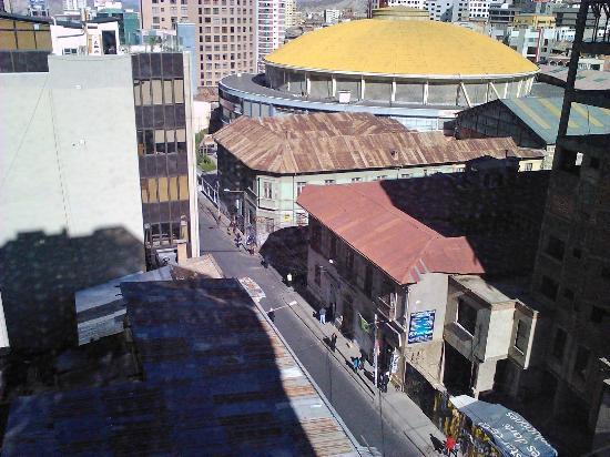 Panamerican Hotel: Otra vista al exterior desde la habitación