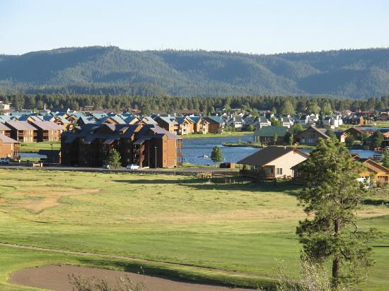 Wyndham Pagosa: Some of the vacation condo clusters