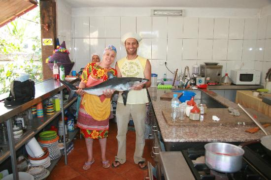 Mehdia Surf Camp Morocco : One good fish for Mrs Mira the best cook ever