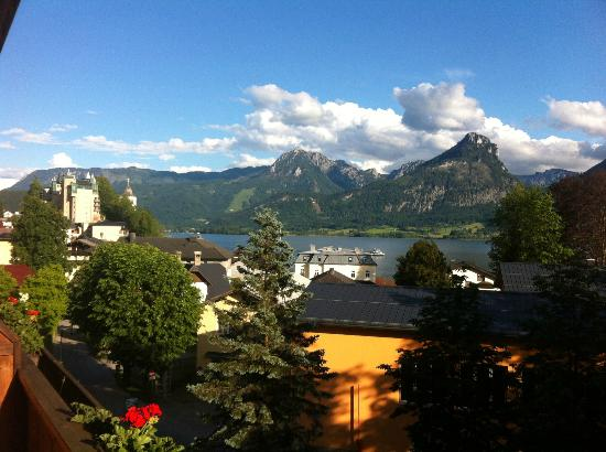 Hotel Furian am Wolfgangsee: View from balcony, room 24