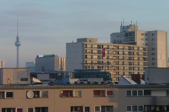 Acama Kreuzberg Hotel+Hostel: View from the room