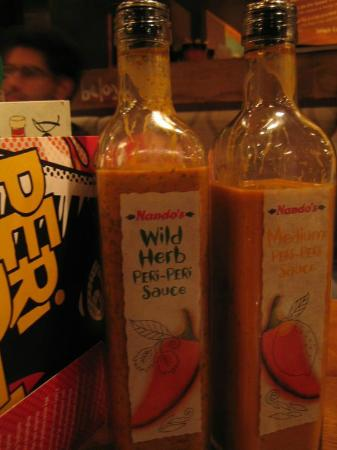 Nando's - Victoria Wilton Road : And of course the peri-peri sauce is definitely a lip-smacking one!!!