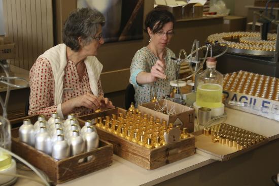 Parfumerie Fragonard: filling