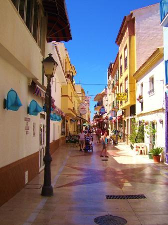Hotel Palmasol: side street