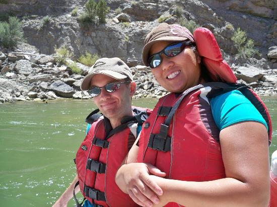 Holiday River Expeditions - Utah River Rafting : On the Raft