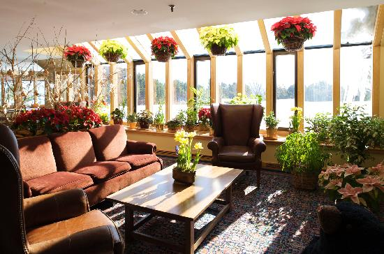 Trapp Family Lodge: Sunroom